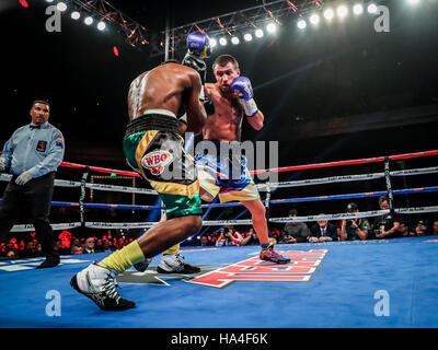 Las Vegas, NV, USA. 26th Nov, 2016. ***HOUSE COVERAGE*** LOMACHENKO vs WALTERS at The Chelsea at The Cosmopolitan - Stock Photo