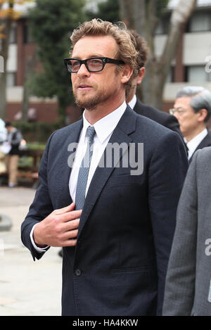 Tokyo, Japan. 27th Nov, 2016. Australian actor and director Simon Baker attends The 36th running of The Japan Cup - Stock Photo