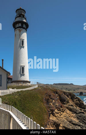 Pigeon Point Lighthouse, California - Stock Photo