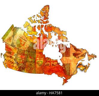 Political map of New Brunswick Stock Photo Royalty Free Image