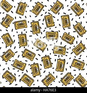 Graffiti Seamless Pattern - Stock Photo