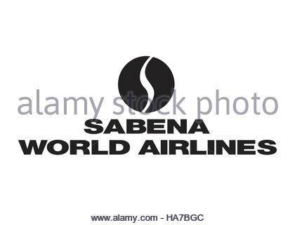 Sabena World Airlines logo - Stock Photo
