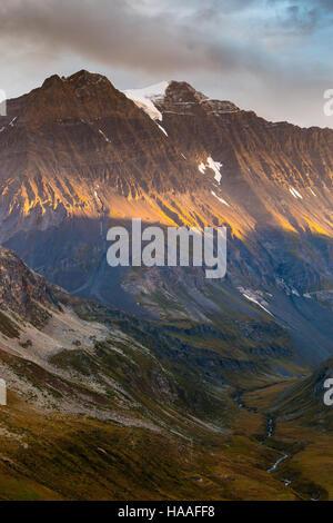 Parc National de la Vanoise. Grande Casse. - Stock Photo