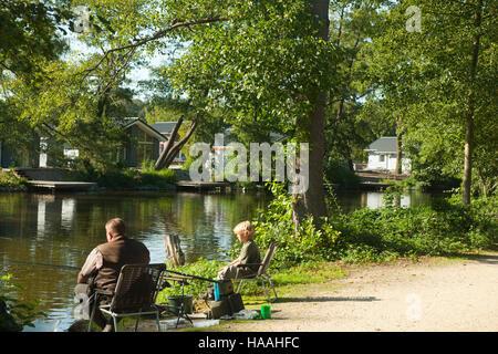 Deutschland, Nordrhein-Westfalen, Kreis Viersen, Schwalmtal, Hariksee - Stock Photo