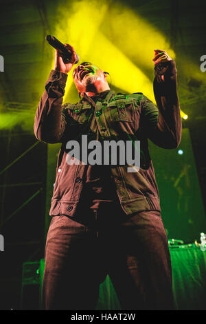 Torino, Italy. 29th June, 2012. Jeffrey Jey of Eiffel65 performing live at Gruvillage Festival 2012 © Alessandro - Stock Photo