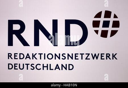 das Logo der Marke 'RND Redaktionsnetzwerk Deutschland', Berlin. - Stock Photo