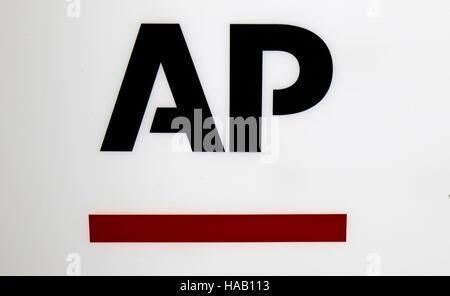 das Logo der Marke 'AP Associated Press', Berlin. - Stock Photo