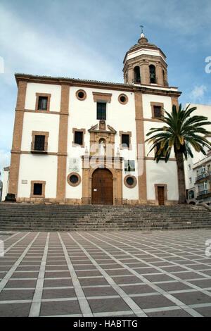 The Iglesia de Nuestra Señora de la Merced Ronda Andalucia Spain - Stock Photo