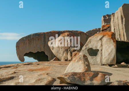 Remarkable Rocks, Kangaroo Island, South Australia, Australia - Stock Photo