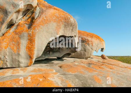 Remarkable Rocks, Kangaroo Island, South Australia, Australia - Stock Photo