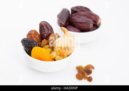 Collection of Ramadan dried fruits - Stock Photo