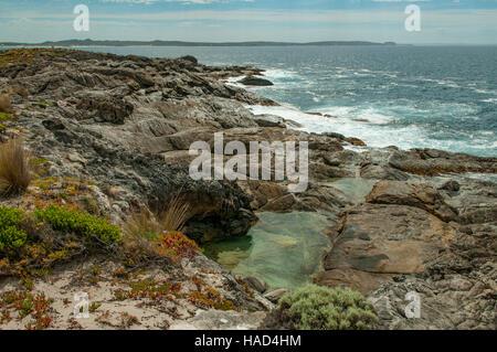Point Ellen, Vivonne Bay, Kangaroo Island, South Australia, Australia - Stock Photo