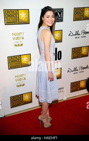 Miranda Cosgrove arrives at the Broadcast Television Journalists Association's third annual Critics' Choice Television - Stock Photo