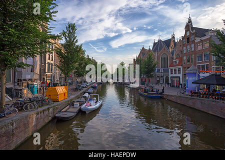 AMSTERDAM - CIRCA JUNE 2014 - Stock Photo