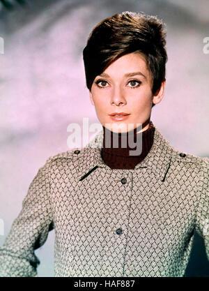 WAIT UNTIL DARK 1967 Warner Bros film with Audrey Hepburn - Stock Photo