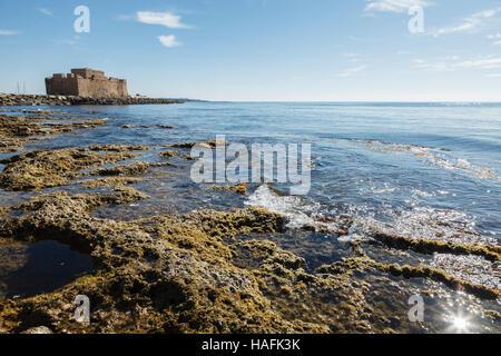 Paphos Castle, Cyprus - Stock Photo