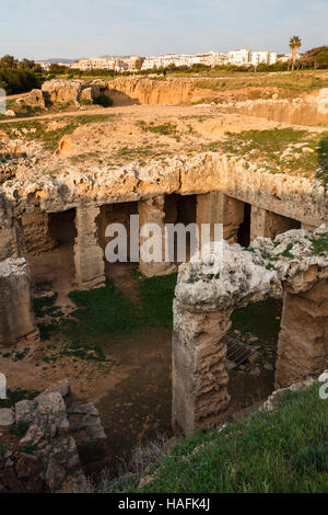 Tombs of the Kings, Paphos, Cyprus - Stock Photo