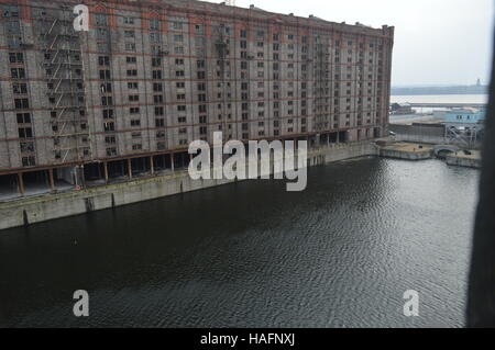 Stanley Dock Liverpool United Kingdom - Stock Photo