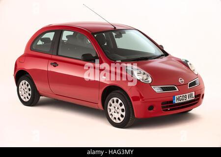 2009 Nissan Micra - Stock Photo