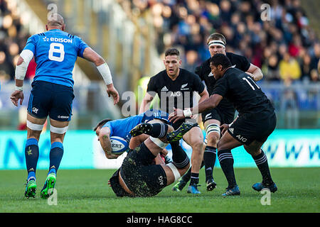 Roma ITALY - 12 November 2016 - Rugby - Stadio Olimpico in Roma  - Rugby Test Match - Italy  New Zealand  -  Copyright: - Stock Photo