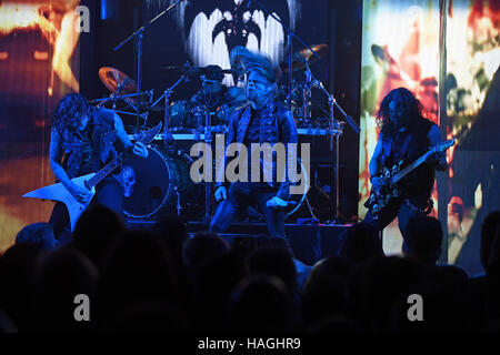 Fort Lauderdale, Florida, USA. 30th Nov, 2016. Queensryche performs at The Culture Room on November 30, 2016 in - Stock Photo
