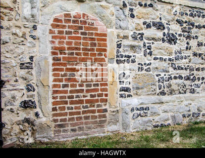 ... Bricked up doorway at an old church in England - Stock Photo & Blocked up doorway in stone garden wall Stock Photo Royalty Free ... Pezcame.Com