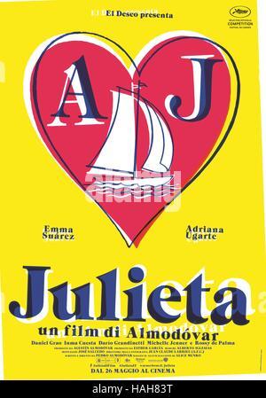 Julieta Year : 2016 Spain Director : Pedro Almodovar Movie poster  (It) - Stock Photo