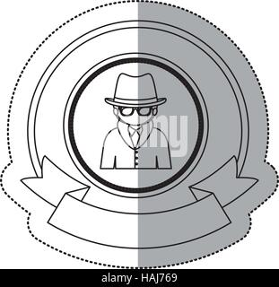 Hacker of security system design - Stock Photo