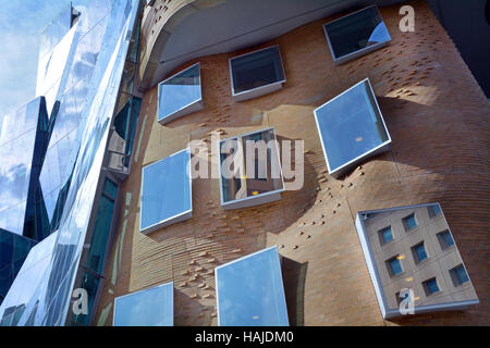 SYDNEY - OCT 20 2016:Dr Chau Chak Wing Building in  Sydney, Australia. It is the first building in Australia designed - Stock Photo