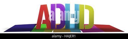 ADHD Colorful - Stock Photo