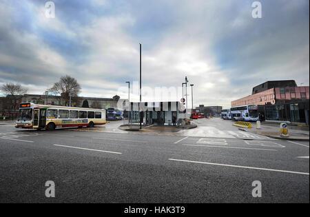 Bury Interchange, Bury, Lancashire. Picture by Paul Heyes, Thursday December 01, 2016. - Stock Photo