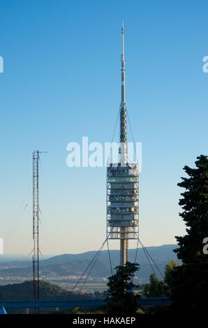 Torre de Collserola, Barcelona - Stock Photo