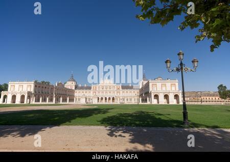 Royal Palace of Aranjuez, Spain - Stock Photo