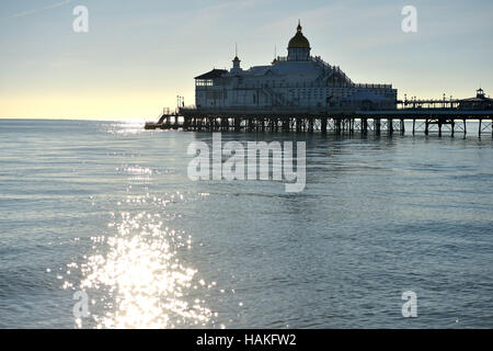 Eastbourne pier, East Sussex - Stock Photo