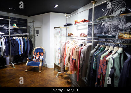 Manchester Vivienne Westwood Shop Interior Ladies King Street Stock Photo Royalty Free Image