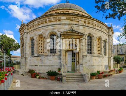 The Ethiopian Orthodox Tewahedo Church, in Jerusalem, Israel - Stock Photo