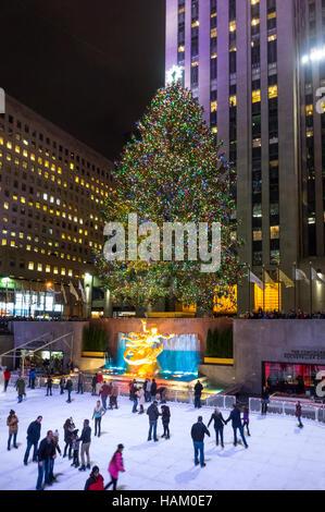 Rockefeller Center Christmas Tree Location