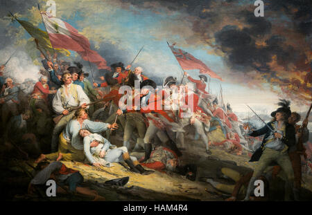 The Battle of Bunker Hill - Stock Photo