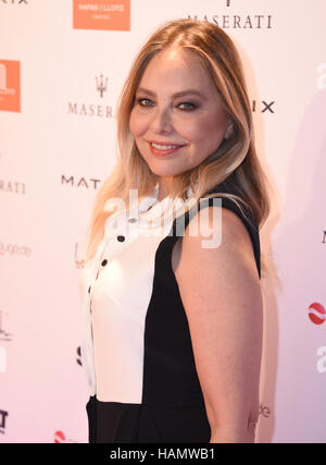 Italian actress Ornella Muti arrives for the event 'Movie meets Media' at the Atlantic hotel in Hamburg, Germany, - Stock Photo