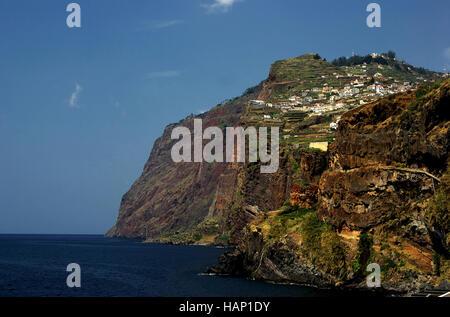 Camara de Lobos; Madeira - Stock Photo