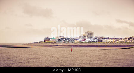 Views from the ferry of Norderney Island, Germany, Europe. - Stock Photo