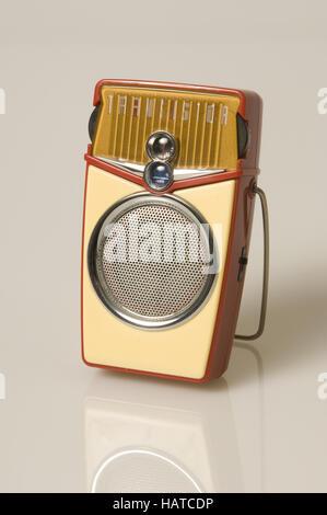 portable radio 50s - Stock Photo