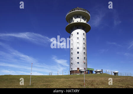 the tower from Feldberg in the Black Forest