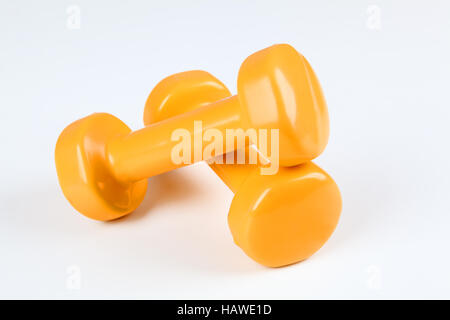 free weights - Stock Photo
