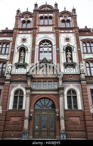 University, Rostock - Stock Photo