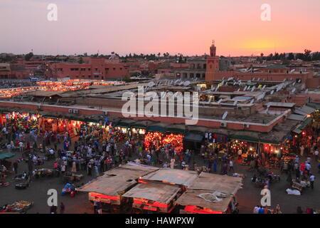 Jamaa el Fna - Stock Photo