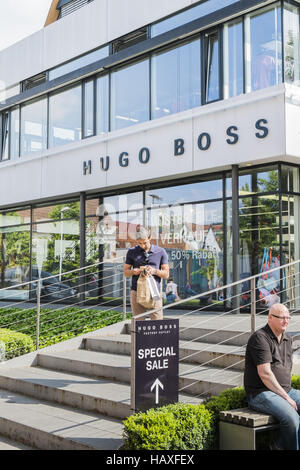 28b58cfef49 hugo boss sample sale outlet on the premises of the outlet city ...