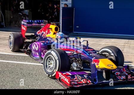 Team Red Bull F1, Sebastian Vettel, 2013 - Stock Photo