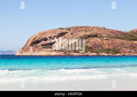Lucky Bay in Cape Le Grand National Park, near the town of Esperance, Western Australia. - Stock Photo