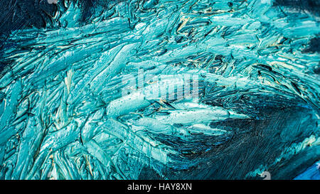 abstract oil paint texture on canvas, background - Stock Photo